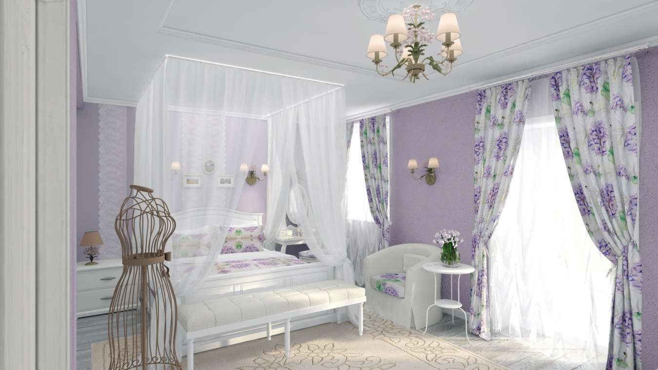 Стиль прованс в интерьере спальни фото своими руками фото 143