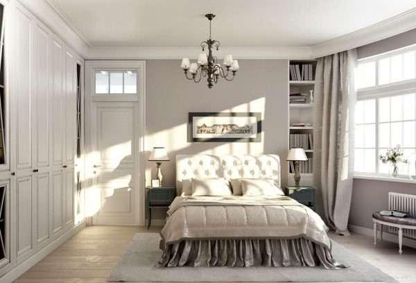 Прикроватные тумбочки - логичное дополнение кровати в спальне