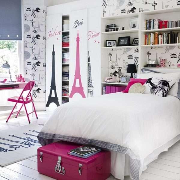 Тематическое оформление комнаты для девочки подростка