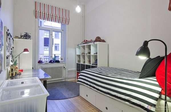 Дизайн интерьера детской комнаты в стиле минимализм