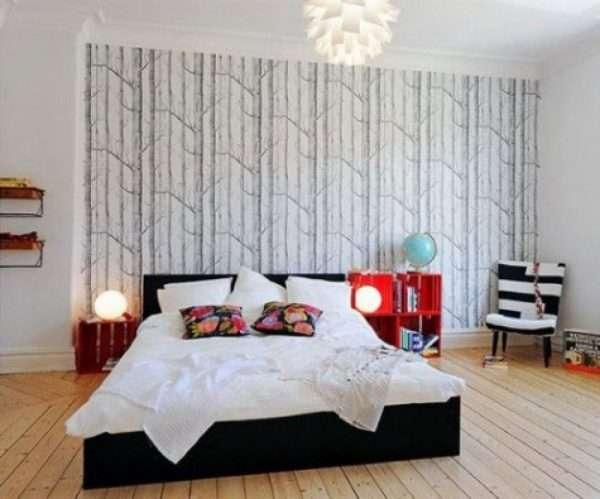 Оформление стен в скандинавском стиле