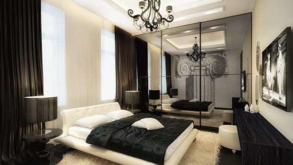 Стиль модерн в оформлении спальни