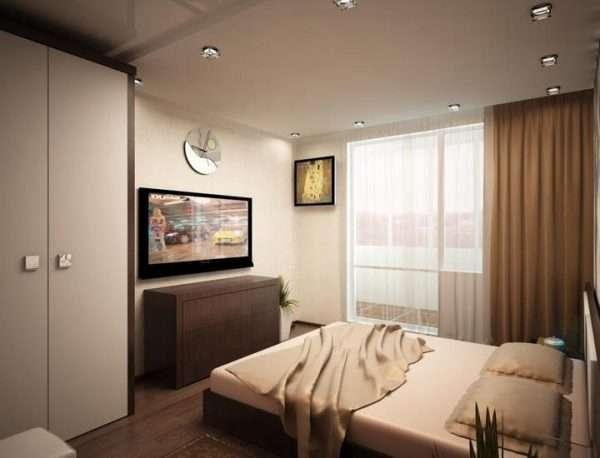 Дизайн спальни в силе минимализм