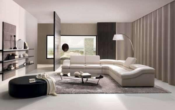 Гостиная спальня в стиле модерн