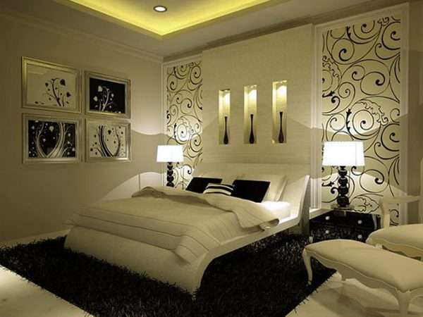 Обои0компаньоны в дизайне спальни