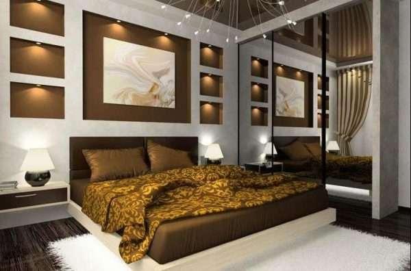Дизайн спальни минимализм.