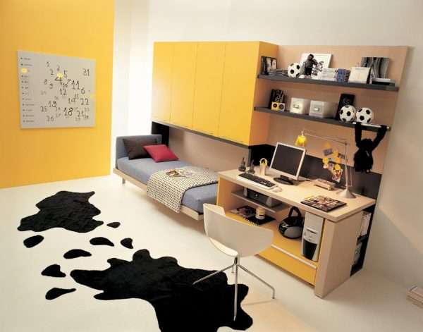 Кебель-трансформер в спальню для мальчика подростка