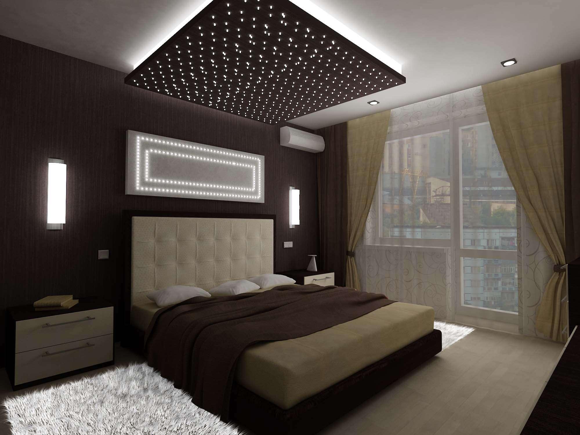 Интерьеры спальни 20 кв.м фото