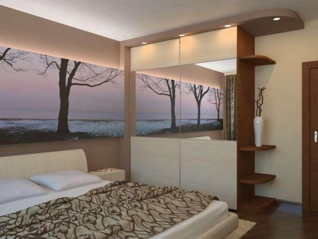 Интерьер спальни в хрущевке