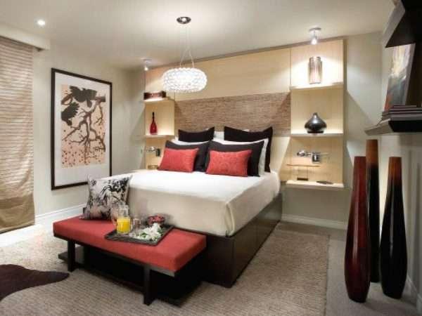 Дополнительное освещение в маленькой спальне