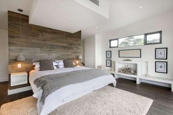Эко-минимализм в дизайне спальни