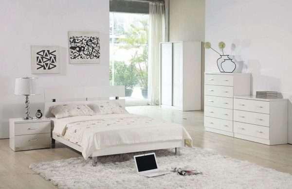 Белая мебель для спальни