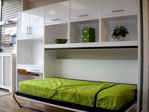 Откидные кровати для детской комнаты
