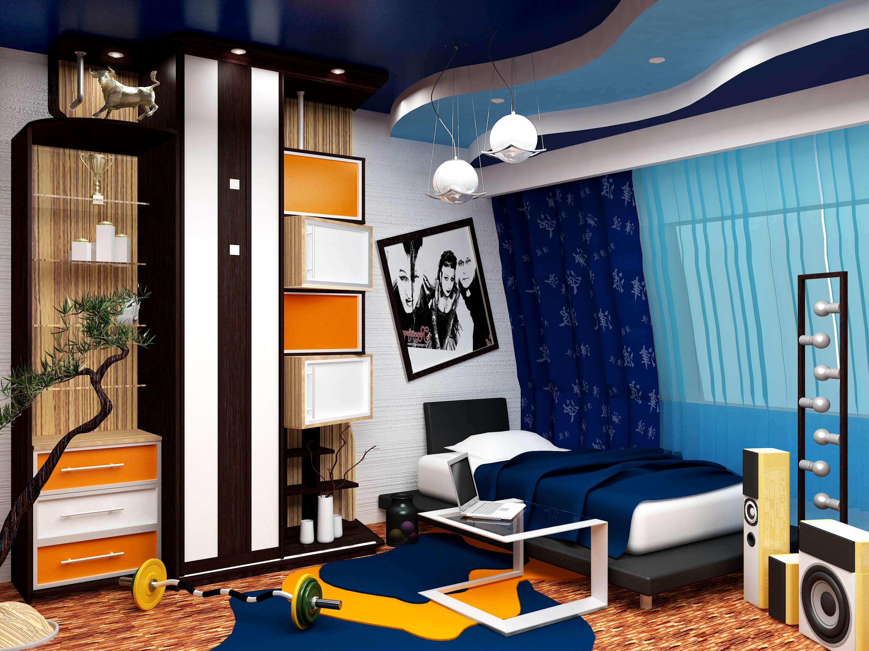 Спальня подростка дизайн с