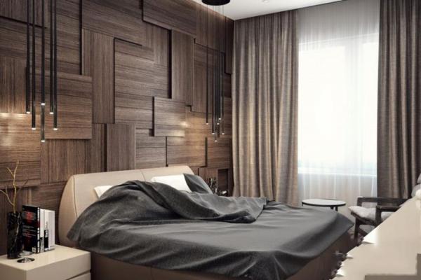 Дизайн спальни в эко-стиле