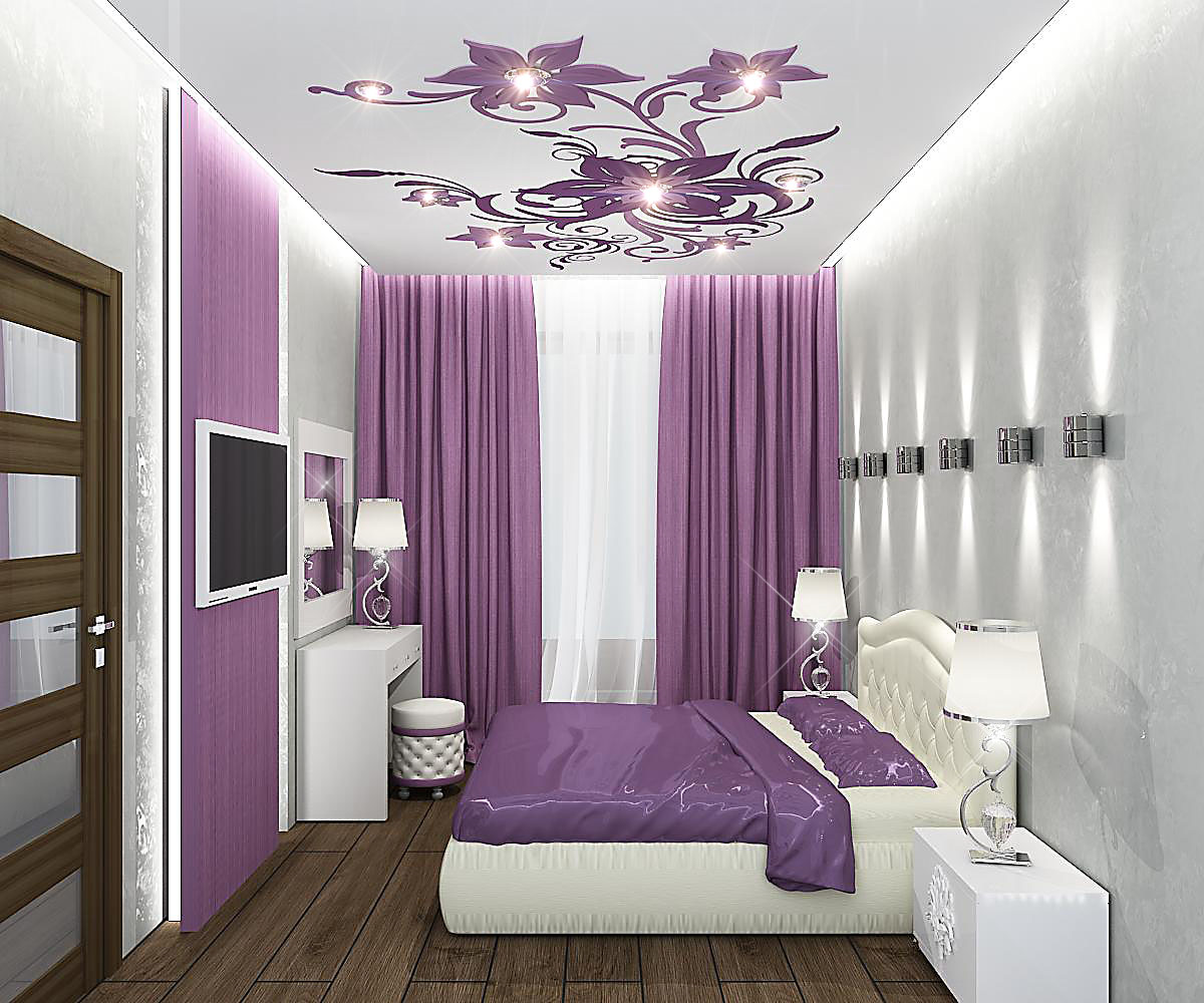 спальня 14 кв. м дизайн фото