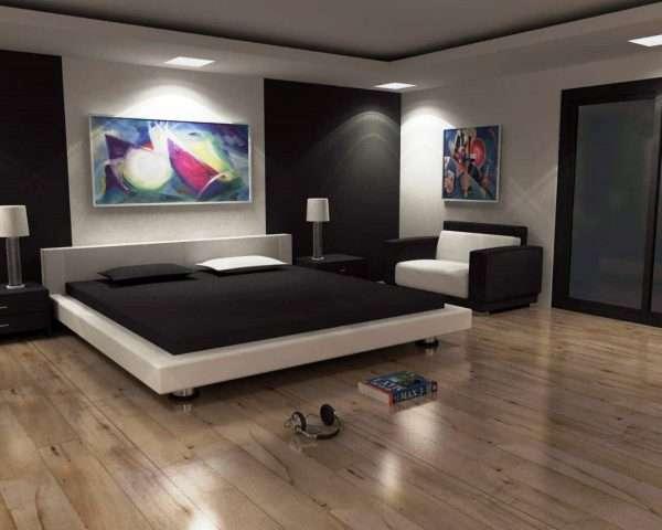 Ламинат для пола в спальне