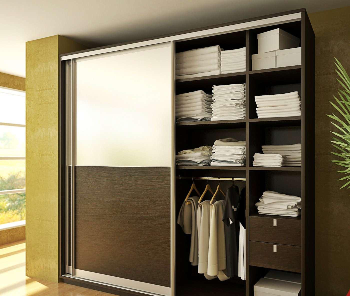 Наполнение шкаф купе в спальне - фото, советы по внутреннему.