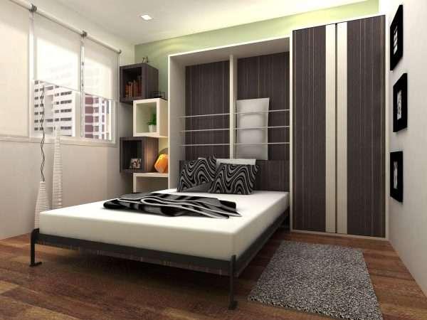 Кровать трансформер в маленькую спальню