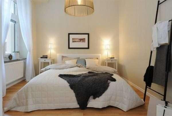 Скандинавские шторы в спальню