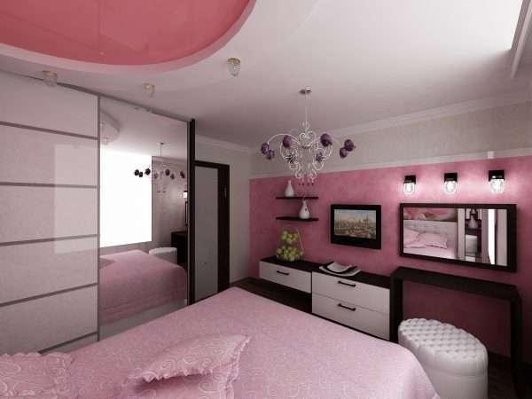 Интерьер спальни 10 кв