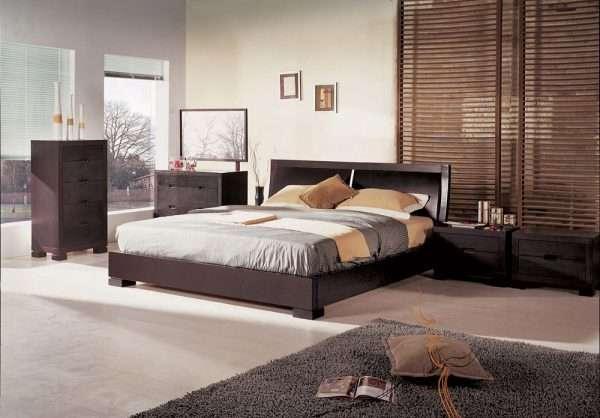 Мебель для спальни в стиле минимализм