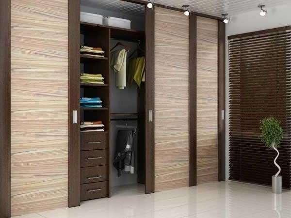 Дизайн встроенного шкафа купе