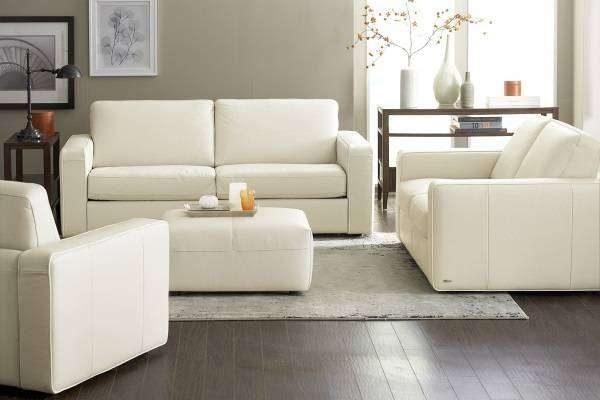 белая мебель с белым декором