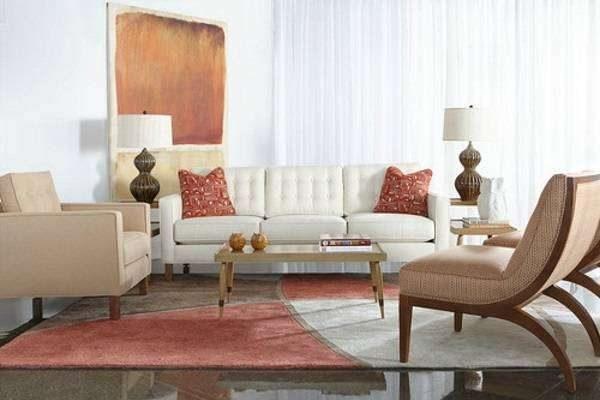 белая мебель в сочетании с мебелью других цветов