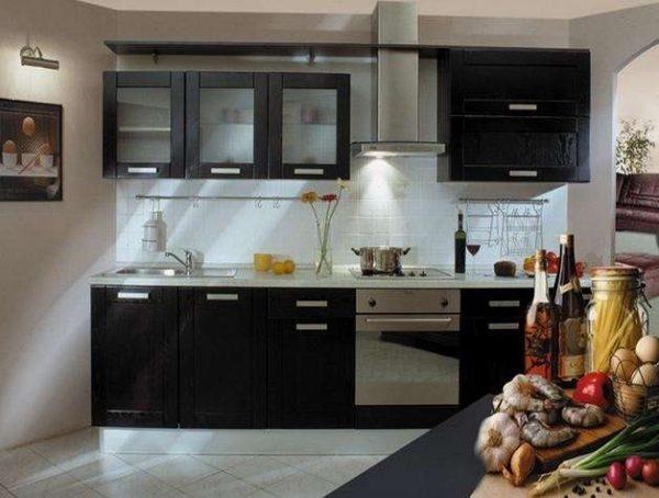дизайн кухни гостиной 13 кв.м. с рабочей зоной