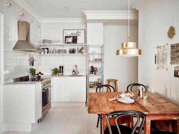 дизайн кухни гостиной 13 кв.м