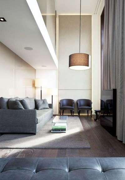 минимализм в интерьере современной гостиной
