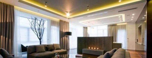 споты с реостатом светильники в гостиной
