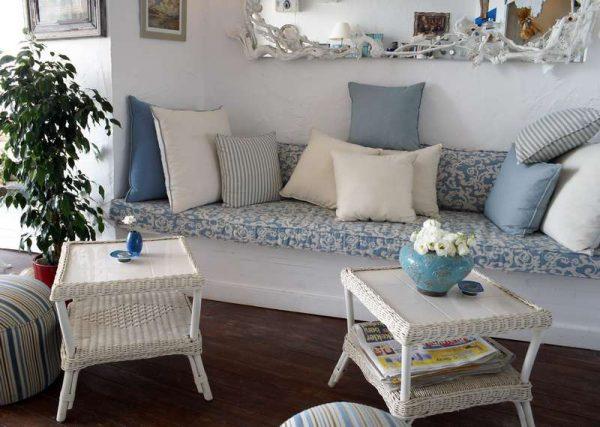 декоративные подушки в стиле прованс