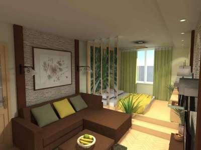 Гостиная и спальня 10 кв м дизайн