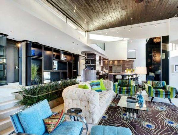 мебель в гостиной в частном доме
