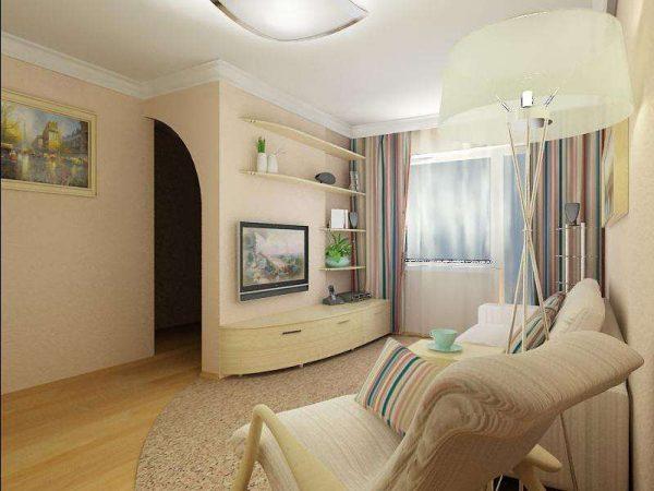 дизайн гостиной в хрущевке 18 кв м фото дизайн интерьера гостиной в