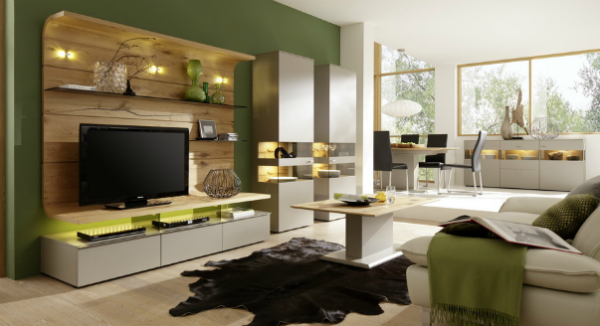 Комплект мебели для гостиной в эко стиле