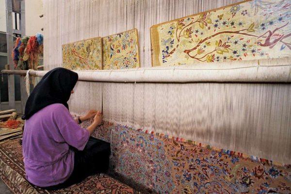 ковёр, сделанный руками мастера