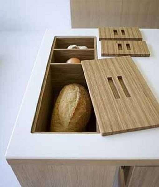 идея хранения хлеба в столе