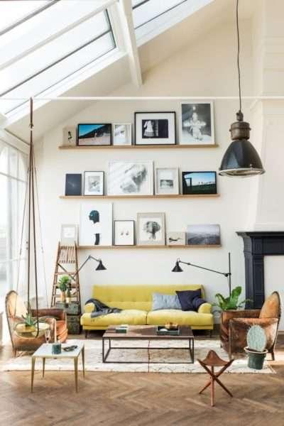 Интерьер небольшой гостиной в маленькой квартире - 50 фото примеров