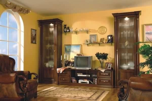 деревянная мебель в стиле классика