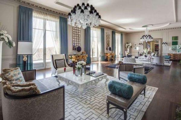 Мебель в классическом стиле для гостиной