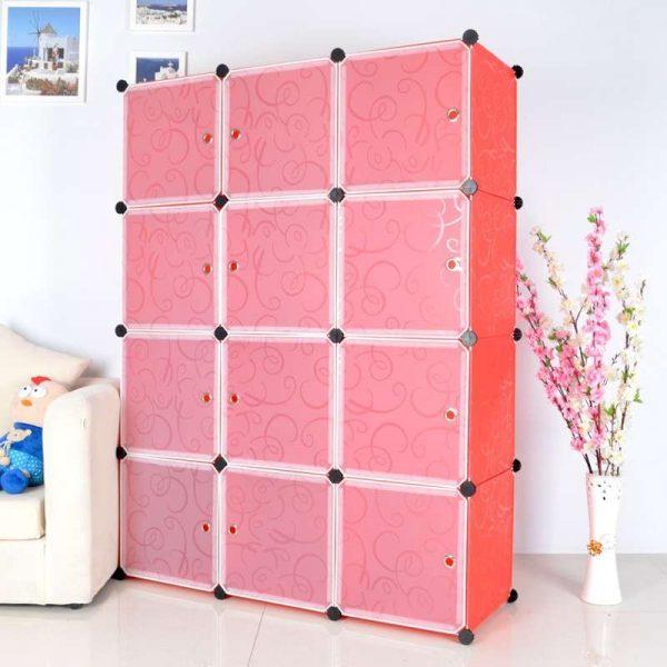 Модульная мебель из пластика
