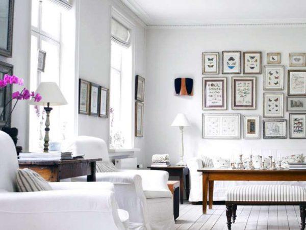 модульная мебель для гостиной в скандинавском стиле