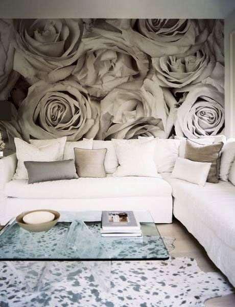 фотообои с изображением роз для гостиной