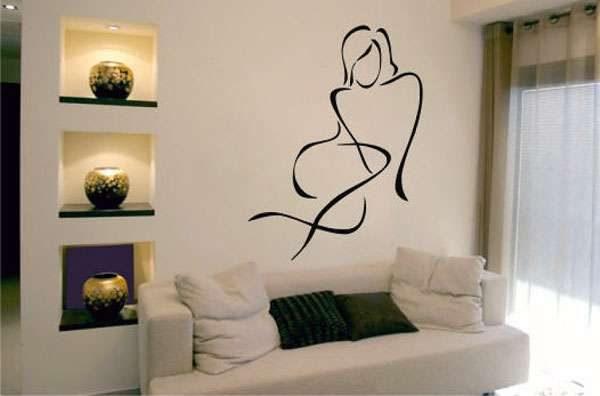 стены из гипсокартона с нишами