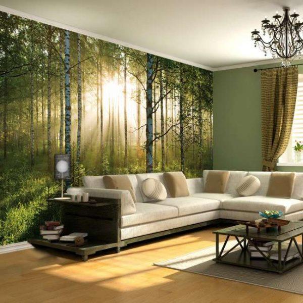 фотообои с лесом