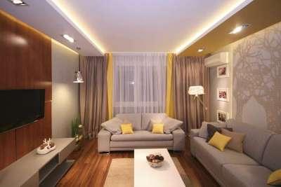 Шторы для гостиной в современном стиле - фото оригинальных решений