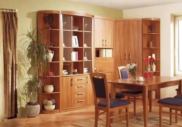 стенка мебельная для гостиной из ДСП